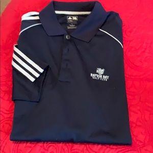 Adidas short sleeved golf shirt